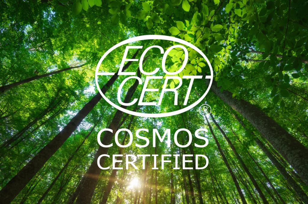 Chứng nhận ECOCERT COSMOS ORGANIC cho mỹ phẩm hữu cơ